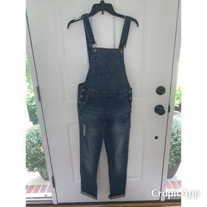 Vici denim overalls